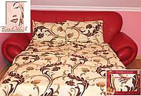 Качественное постельное белье с рисунком