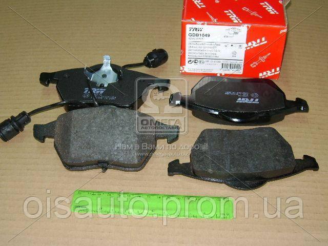 Колодка торм. диск. AUDI 100 (44, 44Q, C3, 4A, C4) передн. (пр-во TRW)