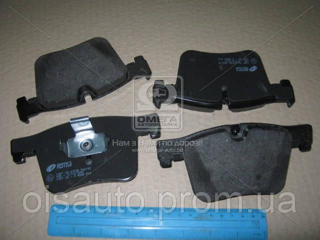 Колодка торм. диск. BMW X3 20 DX, 20IX, BIS 10/11-,X3 35IX (F25) 2011- передн. (пр-во REMSA)