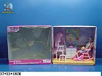 """Мебель для кукол """"Gloria"""" детская комната"""