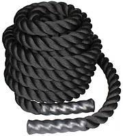 Канат для кроссфита LiveUp BATTLE ROPE, 6 м, LS3676-6