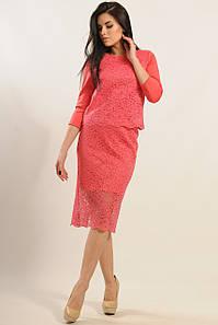 Женский юбочный костюм из гипюра (Вива ri)