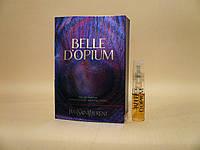 Yves Saint Laurent - Belle D'Opium (2010) - Парфюмированная вода 1,5 мл (пробник) - Редкий аромат, фото 1