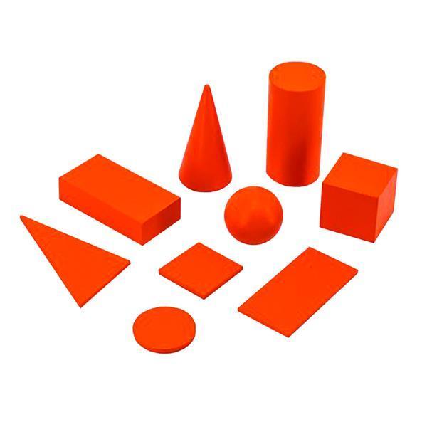 Обучающий набор Viga Toys Геометрические тела и фигуры (55559)