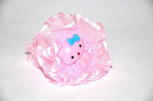 Детская резинка для волос - kitty (12 шт)