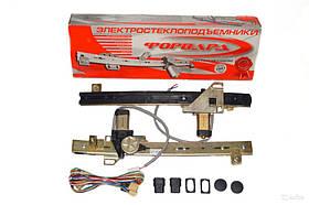 Стеклоподъемник двери передний ВАЗ 2109 2114 21099 2115  (ФОРВАРД г. Ижевск) комплект реечный