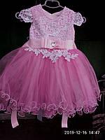 Бальное нарядное детское платье с пышной юбкой