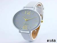 Женские кварцевые наручные часы / годинник Geneva Platinum белого цвета (183)