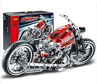 Конструктор JiSi bricks Мотоцикл 3354 - 374 дет.
