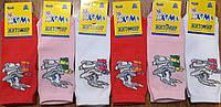 """Дитячі стрейчеві шкарпетки""""ХОМА Master"""" Житомир Зайчик 14-16(3-4 роки), фото 1"""