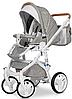 Дитяча універсальна коляска 3 в 1 Riko Brano Luxe 02 Latte, фото 4