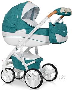 Детская универсальная коляска 3 в 1 Riko Brano Luxe 03 Malachit