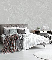 Рельефное дизайнерские панно 3D Paisley pattern structure 155 см х 250 см