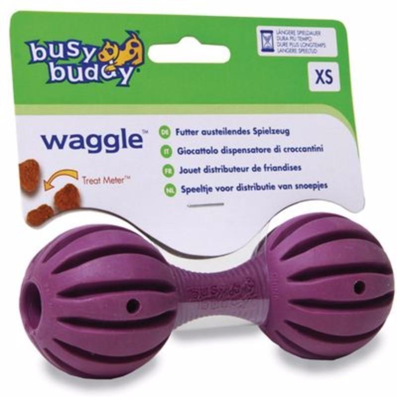 Игрушка для собак PETSAFE Гантеля, литая резина, под корм, 11см