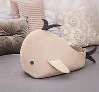 Домик для животных Digitalwool Рыбка с подушкой Бежевый