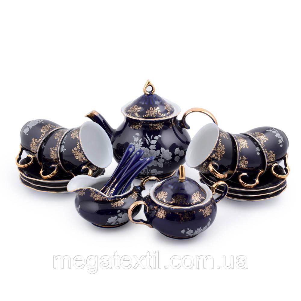 Чайний сервіз фарфор на 6 персон (42935.001)