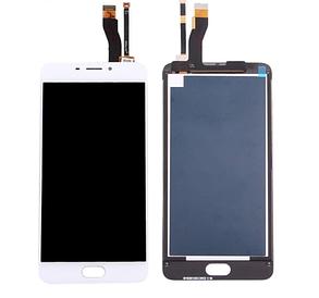 Модуль (дисплей + сенсор) для Meizu M5 note (M621) білий, фото 2