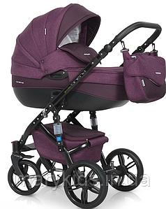 Детская универсальная коляска 3 в 1 Riko Brano Natural 03 Purple