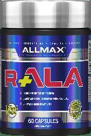 Allmax R+ALA, R+альфа-липоевая к-та, 60 капс х 150 мг, R+Alpha Lipolic