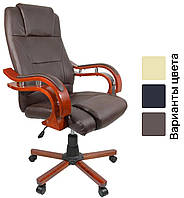 Офисное компьютерное кресло Prezydent массажное (офісне комп'ютерне крісло масажне Президент для офиса дома), фото 1