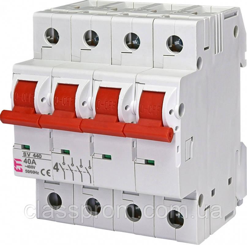 Выключатель нагрузки SV 440  4р 40А ETI 2423423