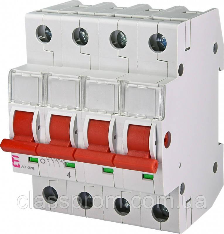 Выключатель нагрузки SV 4100  4р 100А ETI 2423416