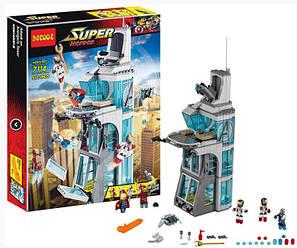 Конструктор Decool 7114 Эра Альтрона: Нападение на Башню Мстителей - 511 дет.