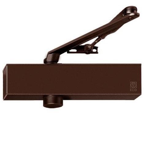 Доводчик ECO-Schulte TS-11F коричневий RAL8014, EN 2/3/4/5, стандартна тяга