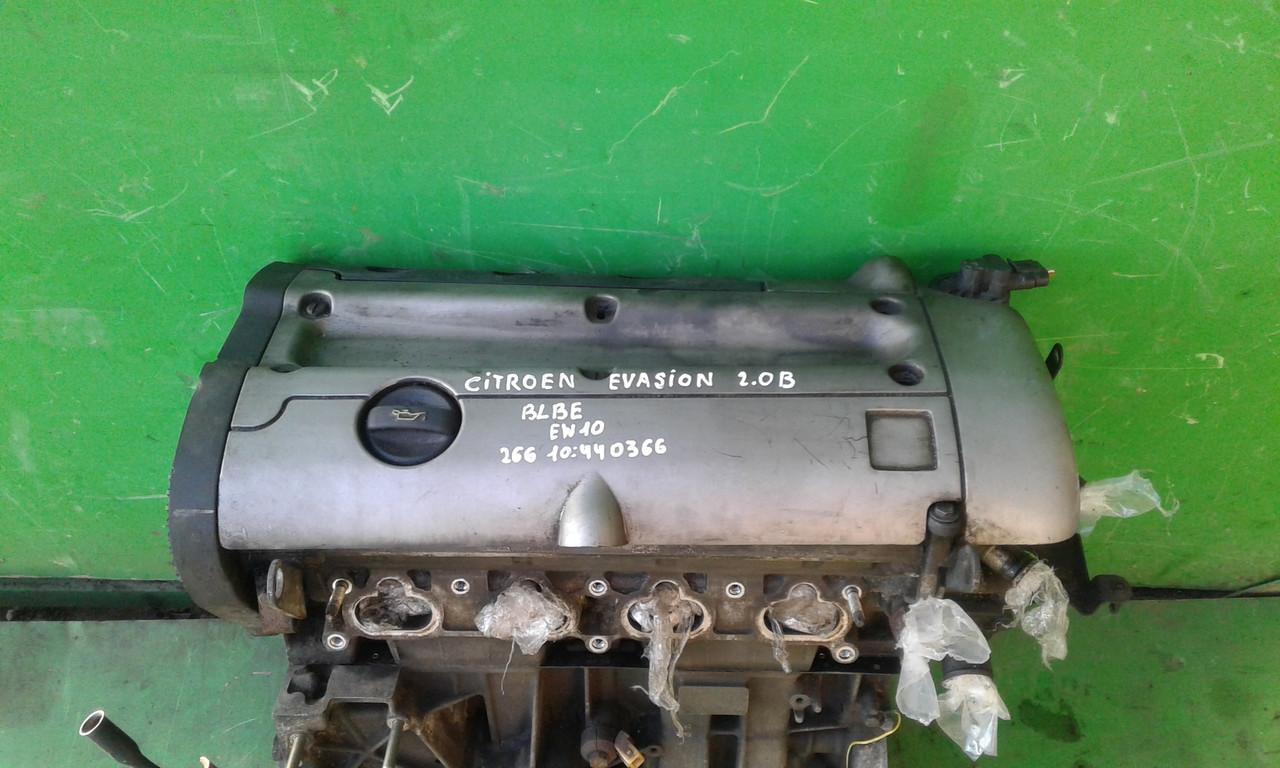 Б/у двигатель для Citroen Evasion 2,0 B BLBE EW10J4 266 10:440366, Citroen Xsara, Xsara Picasso, C4, C5, Peuge