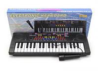 Пианино с микрофоном  (37 клавиш)  scs