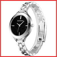 Женские наручные часы BAOSAILI BSL1049 Silver для девушек с кварцевым механизмом наручные женские модный аксессуа (3086-8925)