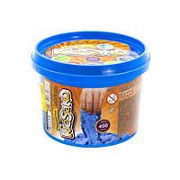 """Кинетический песок / Песок для лепки / Масса для лепки """"KidSand"""", голубой, 400г  sco"""