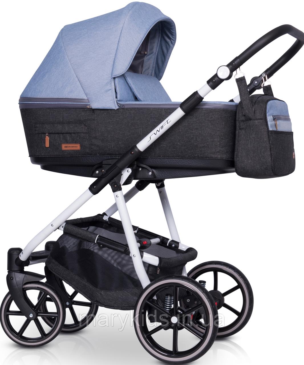 Детская универсальная коляска 3 в 1 Riko Swift Natural 02 Niagara