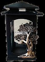 Полимерная лампадка (подсвечник) для надгробного памятника