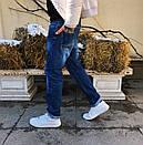 8044 Resalsa джинсы мужские с теркой весенние стрейчевые (30-2,31, 3 ед.), фото 4