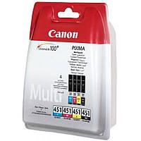 Картридж Canon CLI-451 C/M/Y/Bk Multi Pack (6524B004)