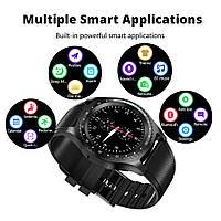 Умные часы Smart Watch CanMixs  Y1 сенсорные HD-экран слоты для SIM-карты и TF-карты