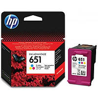 Картридж HP DJ No.651 Color Ink Advantage (C2P11AE)