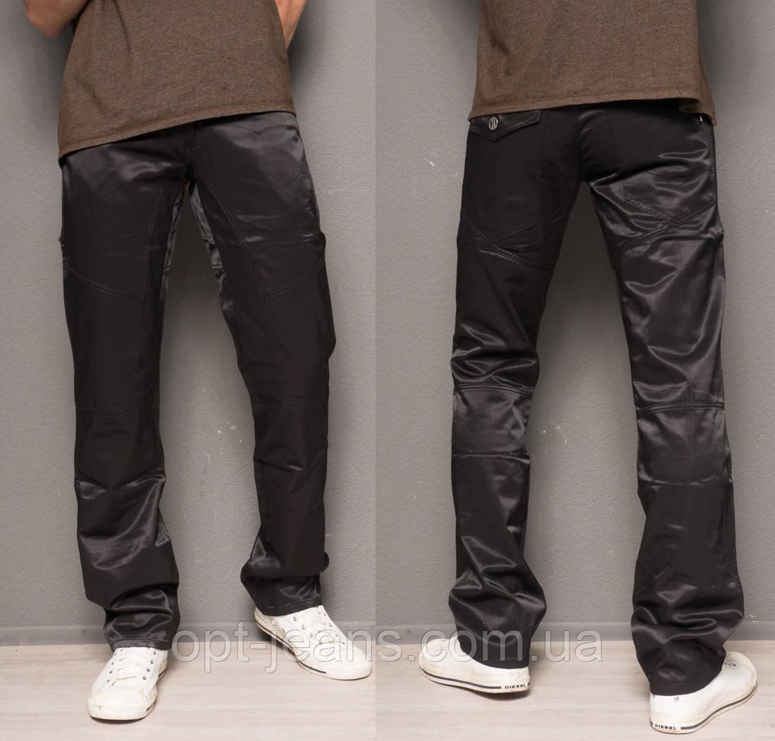 0111-07-54 Longli брюки мужские черные стрейчевые (29-36, 8 ед.)