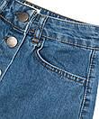 10002 Defile юбка джинсовая на пуговицах осенняя котоновая (34-40, евро, 6 ед.), фото 4