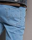 0435-B L.V.D. джинсы мужские батальные весенние стрейч-котон (36-42, 6 ед.), фото 4