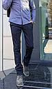 1265-R373 Prodigy брюки мужские молодежные темно-синие осенние стрейчевые (28-34, 7 ед.), фото 2