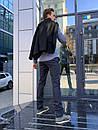 1265-R373 Prodigy брюки мужские молодежные темно-синие осенние стрейчевые (28-34, 7 ед.), фото 3