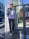 1265-R373 Prodigy брюки мужские молодежные темно-синие осенние стрейчевые (28-34, 7 ед.), фото 4