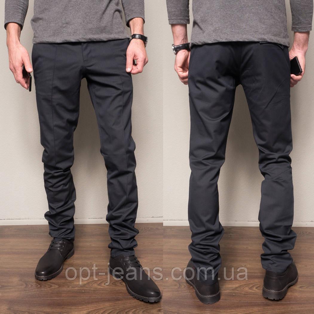 1269-R397 Prodigy брюки мужские темно-синие осенние стрейчевые (29-35, 7 ед.)
