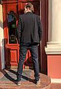 1269-R397 Prodigy брюки мужские темно-синие осенние стрейчевые (29-35, 7 ед.), фото 4
