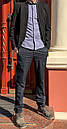 1269-R397 Prodigy брюки мужские темно-синие осенние стрейчевые (29-35, 7 ед.), фото 5