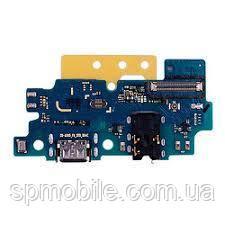 Шлейф Samsung A505 Galaxy A50, з мікрофоном, з роз'ємом на зарядку