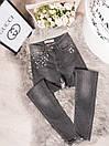 410592 Karol американка стильная серая осенняя стрейчевая (34-38 евро, 4 ед.), фото 2