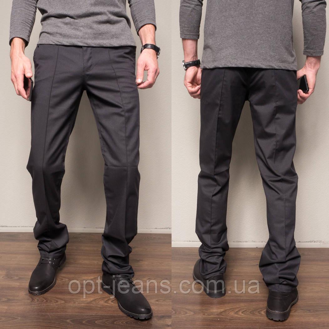 7702-H02 Prodigy брюки мужские молодежные темно-синие осенние стрейчевые (28-34, 7 ед.)